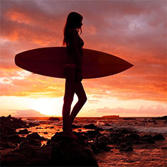 Malpais Surfer Girl