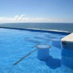 Santa Teresa rental villa with ocean view