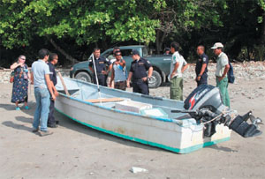 Boats in Manzanillo used for illegal fishing