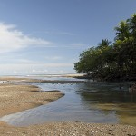 Rio Lajas River Mouth in Cabuya
